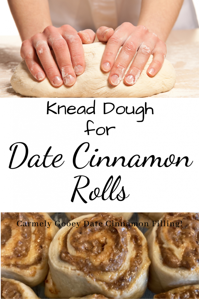 rolls text and dough being kneaded