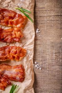 bacon for loaded potato salad