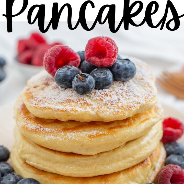Sweet Cream Pancake Recipe
