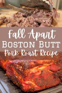 boston butt roast with texr