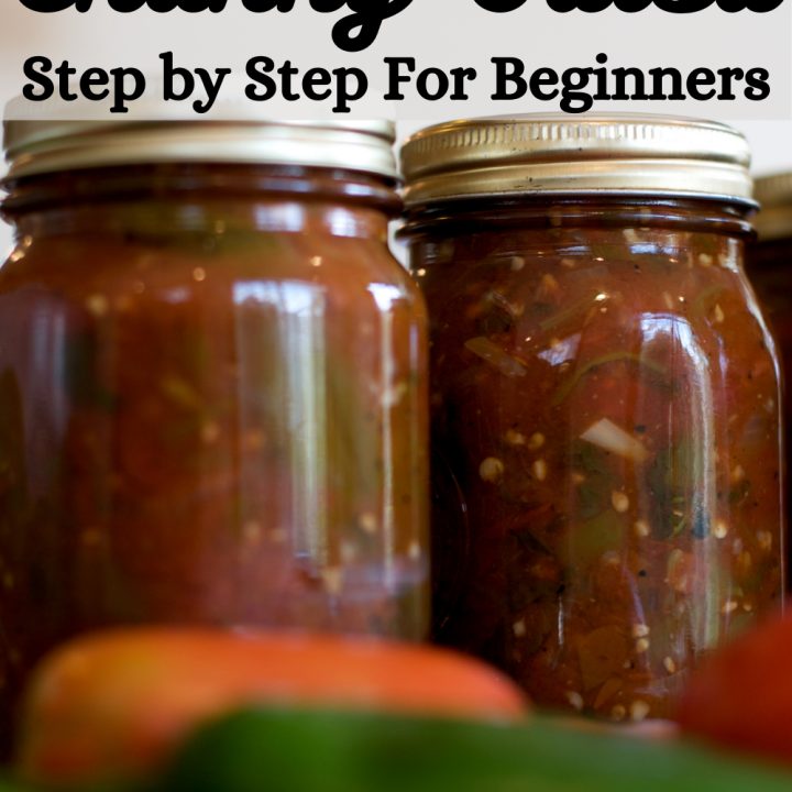 Chunky Salsa Recipe for Canning