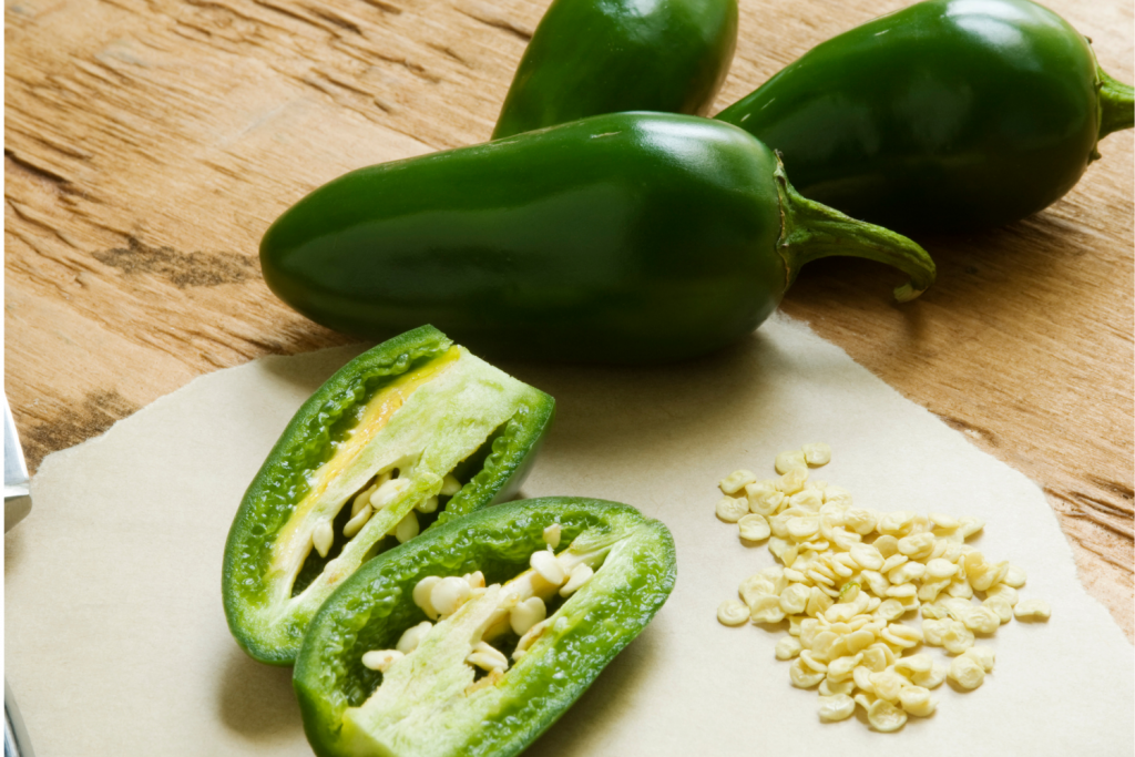 chopped salsa peppers